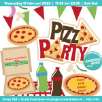 flyer pizza party heiloo 3
